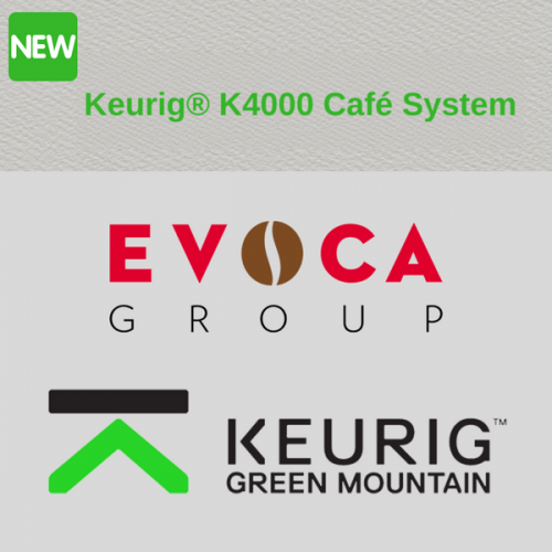 Dalla partnership tra EVOCA e Keurig nasce il sistema K4000