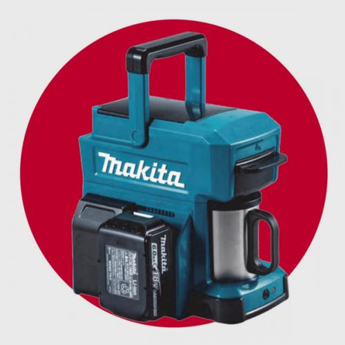 Makita, la macchina per il caffè che va a batterie come un trapano