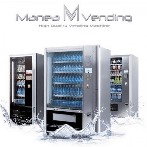 Manea Vending presenta una nuova gamma di distributori automatici