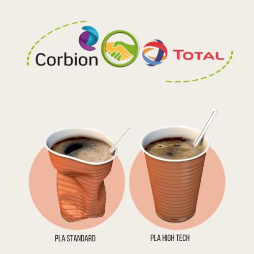 Plastica. Presto i bicchieri da caffè in PLA ad alta resistenza termica