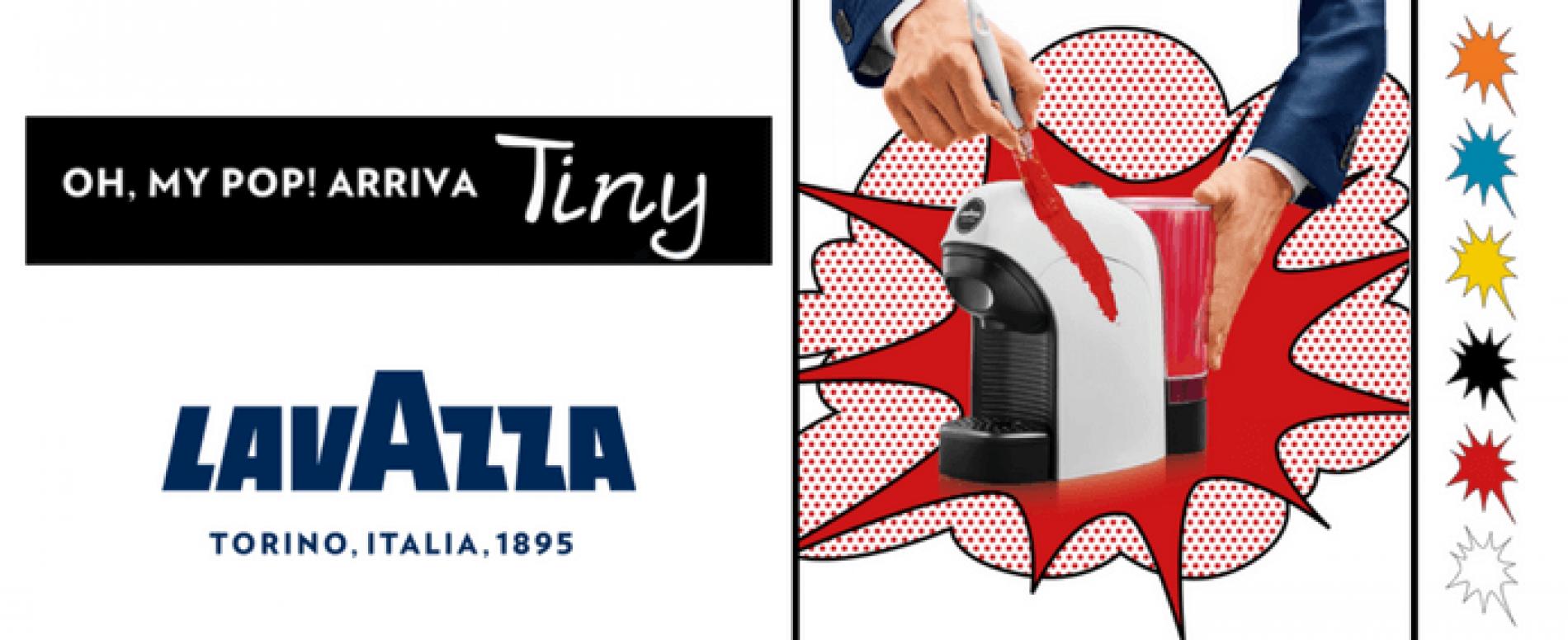 Arriva Tiny, la più compatta delle macchine Lavazza