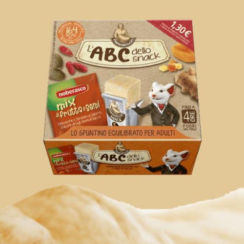 Da Parmareggio e Noberasco un nuovo snack per gli adulti