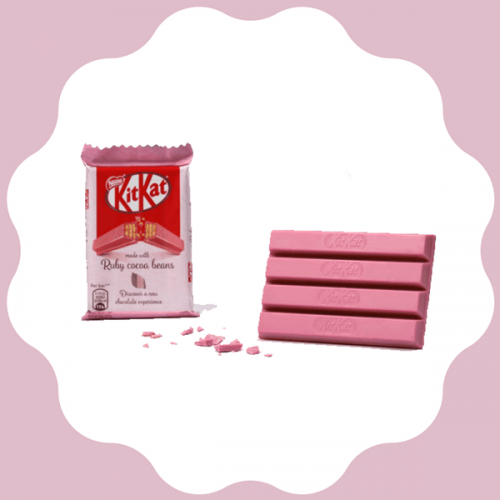 Il Kit-Kat Ruby arriva anche in Europa