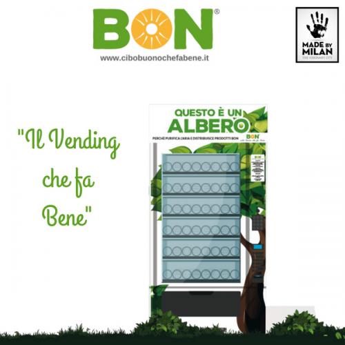 BON: il Vending che fa bene all'ambiente e alla salute