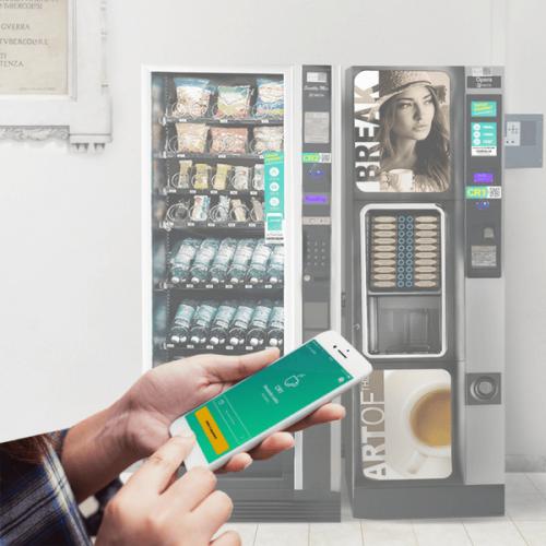 A Roma il primo cluster di distributori automatici completamente cashless