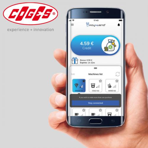 Pay4Vend 4.0 – Coges rivoluziona il pagamento con smartphone per vending