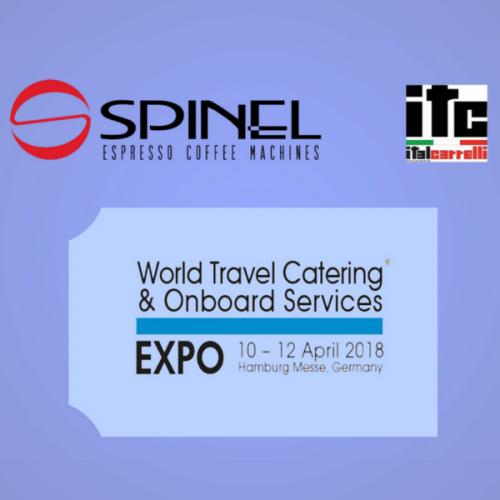 Spinel & Italcarrelli al WTCE 2018 di Amburgo
