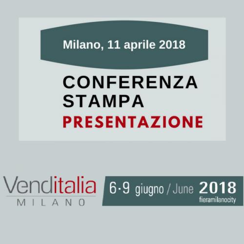Venditalia 2018. Conferenza Stampa di presentazione
