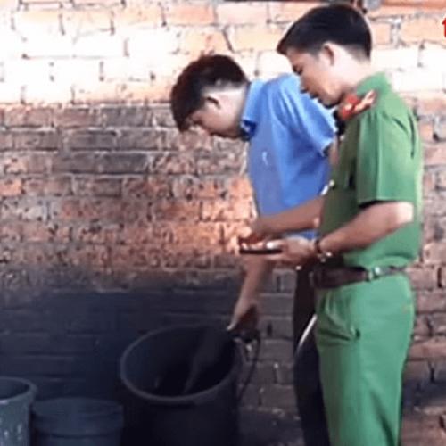 Dal Vietnam caffè con polvere di roccia e batterie usate