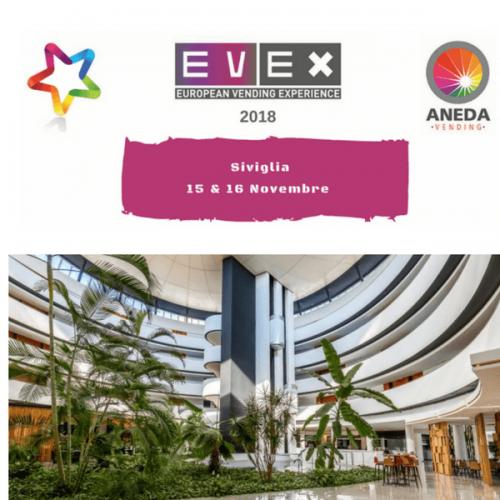 Evex 2018: il sito web di registrazione è online