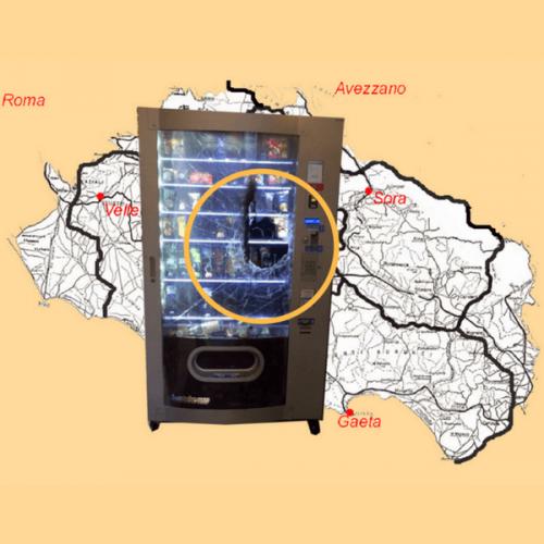 Furti ai distributori automatici: l'allarme di un altro gestore