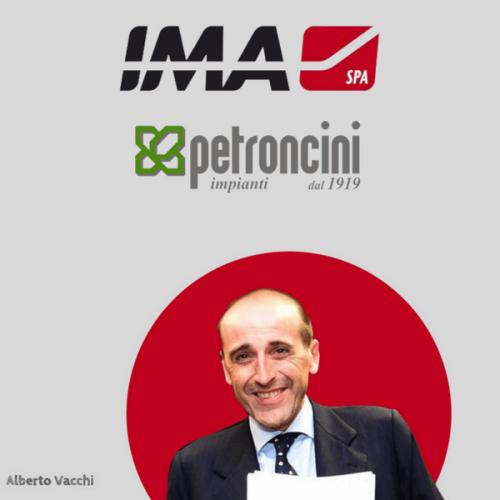Il Gruppo IMA rafforza le quote in Petroncini Impianti