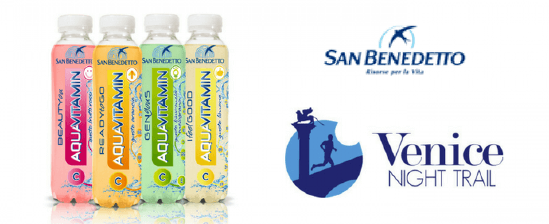 "San Benedetto corre la ""Venice Night Trial"" con Aquavitamin"