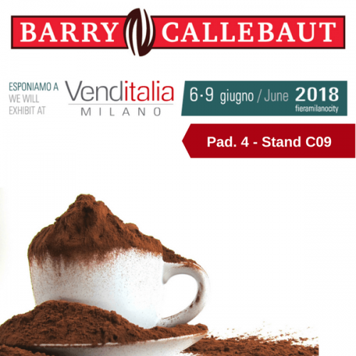 Venditalia 2018. Le novità di Barry Callebaut
