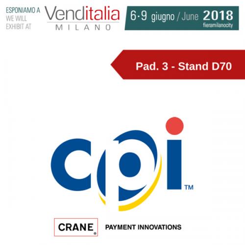 Venditalia 2018. Le novità di CPI – Crane Payment Innovations