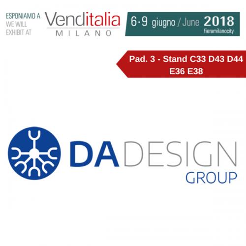 Venditalia 2018. Le novità di D.A. DESIGN GROUP