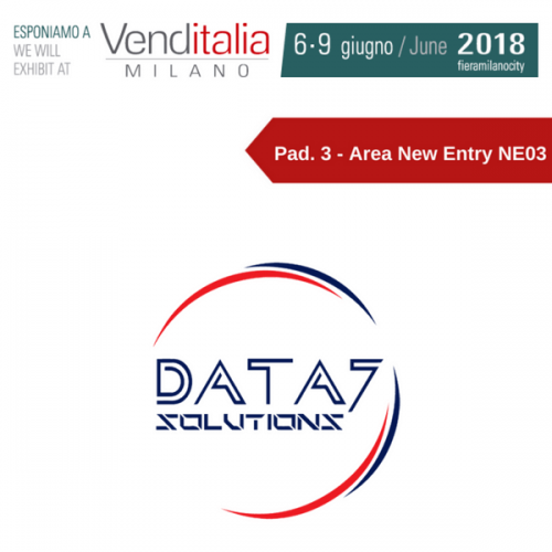 Venditalia 2018. Le novità di Data7 Solutions