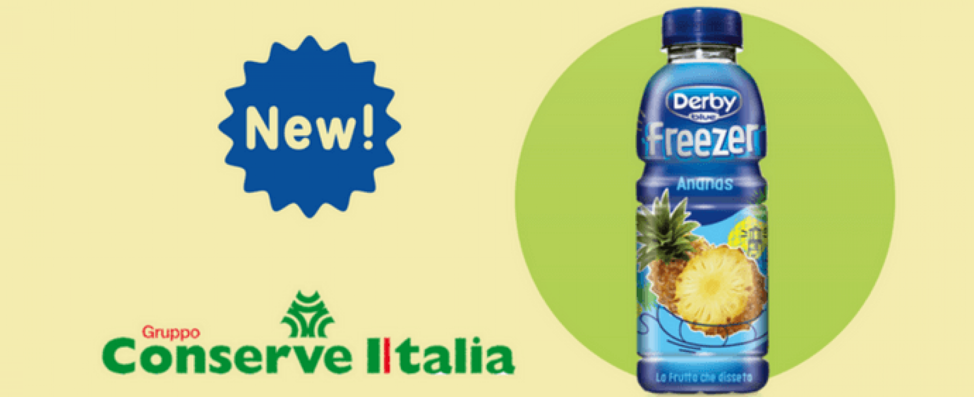 Derby Blue Freezer Ananas disponibile nel canale Vending