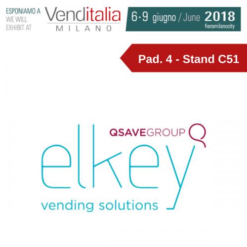 Venditalia 2018. Le novità di ELKEY -Gruppo QSAVE