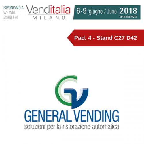 Venditalia 2018. Le novità di General Vending