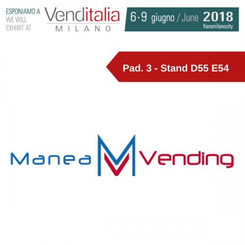 Venditalia 2018. Le novità di MANEA VENDING