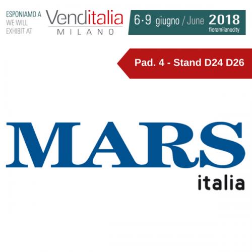 Venditalia 2018. Le novità di MARS ITALIA
