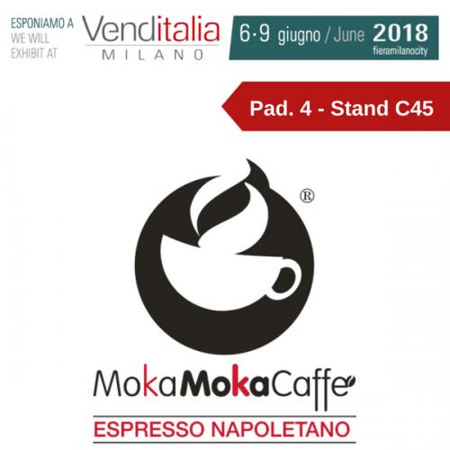 Venditalia 2018. Le novità di MOKAMOKA CAFFÈ