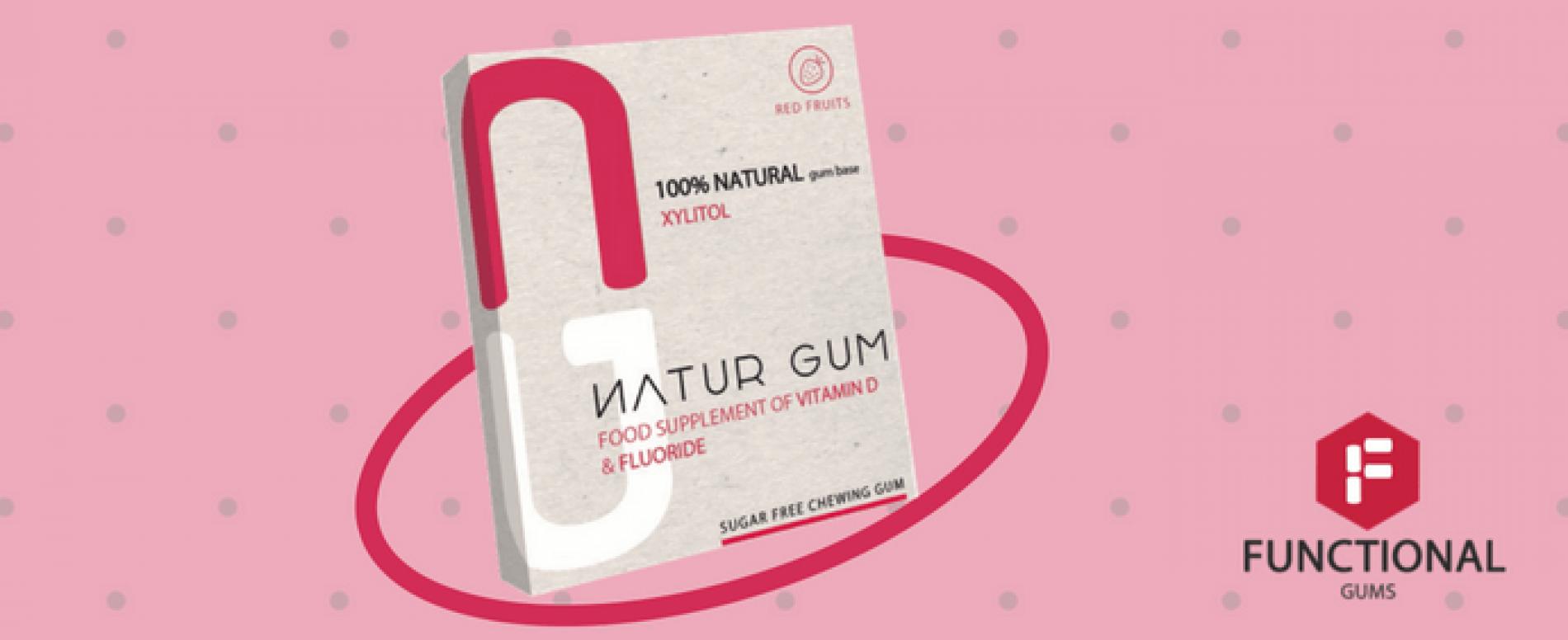 Natur Gum: le gomme da masticare diventano integratori