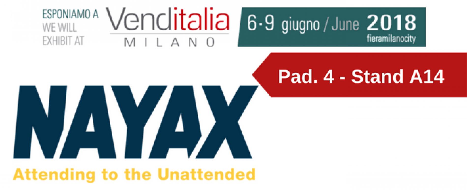 Venditalia 2018. Le novità di NAYAX