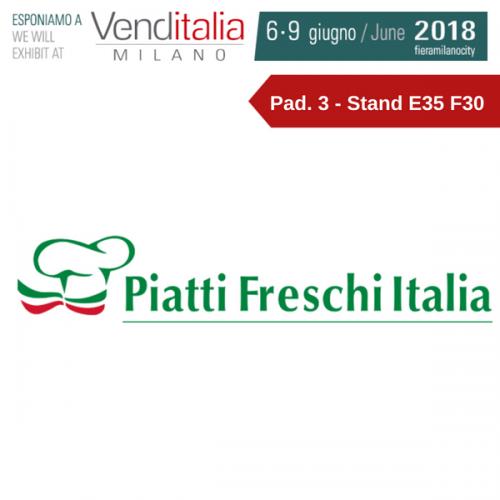 Venditalia 2018. Le novità di PIATTI FRESCHI ITALIA