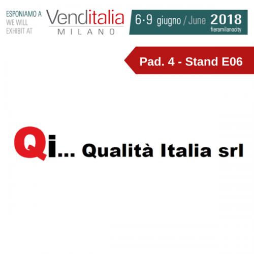Venditalia 2018. Le novità di QUALITA' ITALIA