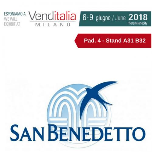 Venditalia 2018. Le novità di Acqua Minerale San Benedetto