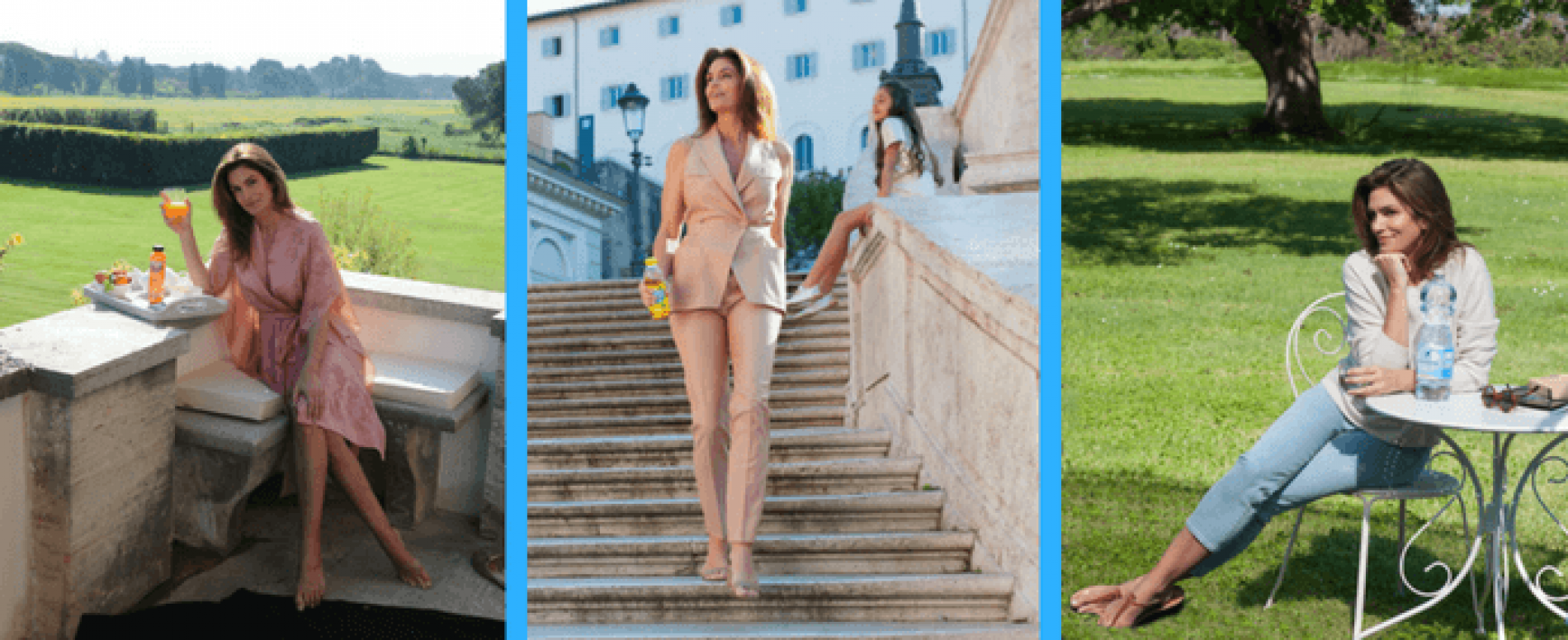 """Cindy Crawford protagonista della nuova campagna """"San Benedetto, I love you"""""""
