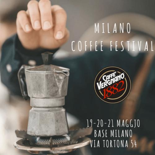 Caffè Vergnano Sponsor Coffee del Milano Coffee Festival