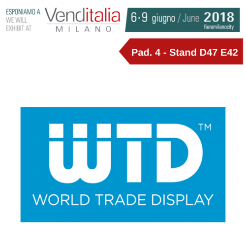 Venditalia 2018. Le novità di WTD – World Trade Display