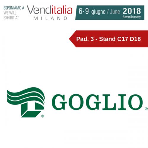 Venditalia 2018. Le novità di GOGLIO SpA