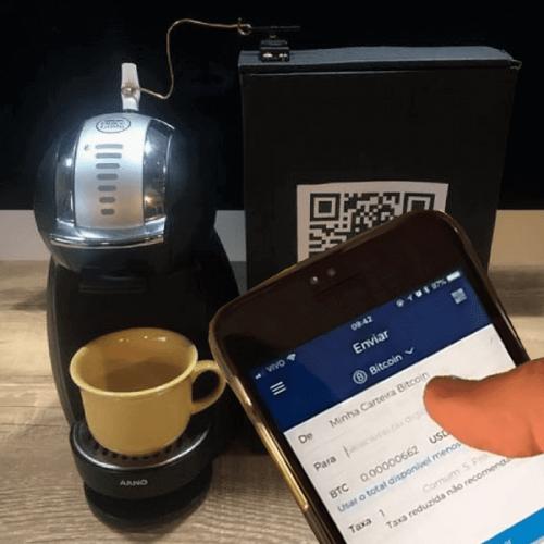 Paga il caffè in Bitcoin modificando una DolceGusto