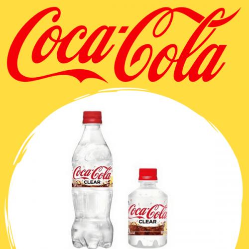 Coca-Cola Clear: la novità trasparente arriva in Giappone