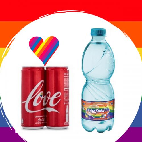 Coca-Cola e Acqua Vitasnella celebrano l'amore