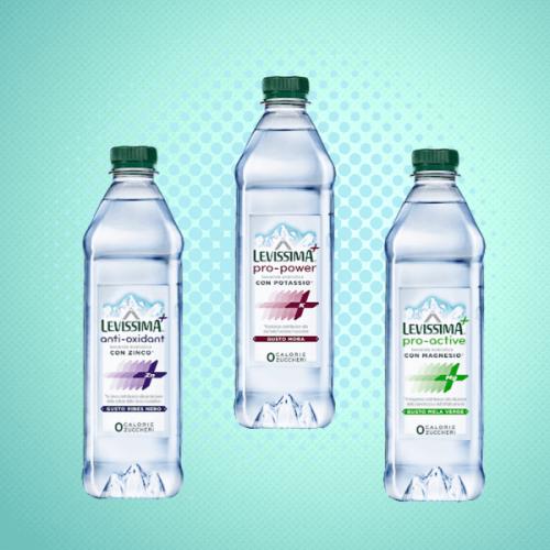 Levissima+, l'acqua minerale che reintegra i sali minerali