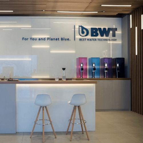 BWT a Milano: un nuovo showroom fra design e tecnologia