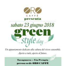 Green Style Day: il 23 giugno con Oro caffè e il vivere sostenibile