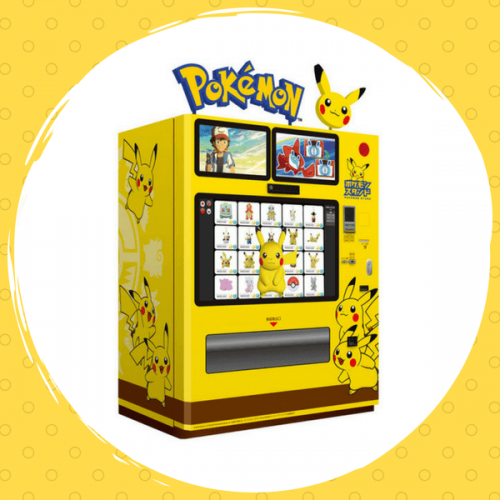 Pokemon Stand: in Giappone il distributore automatico di Pokemon