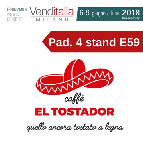 Venditalia 2018. Le novità di Caffè El Tostador