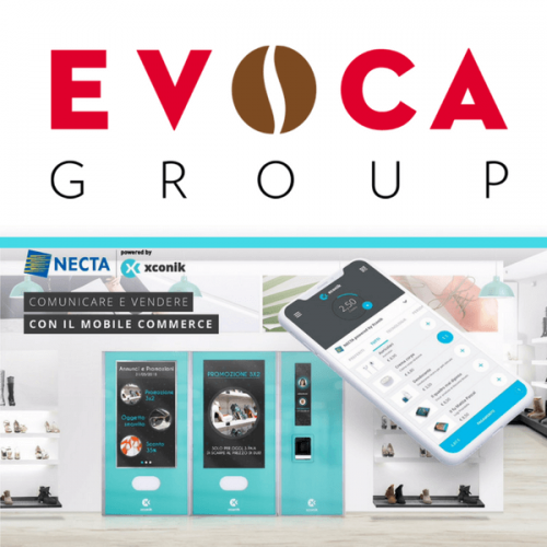 EVOCA GROUP & XCONIK presentano a Venditalia un innovativo sistema di mobile commerce