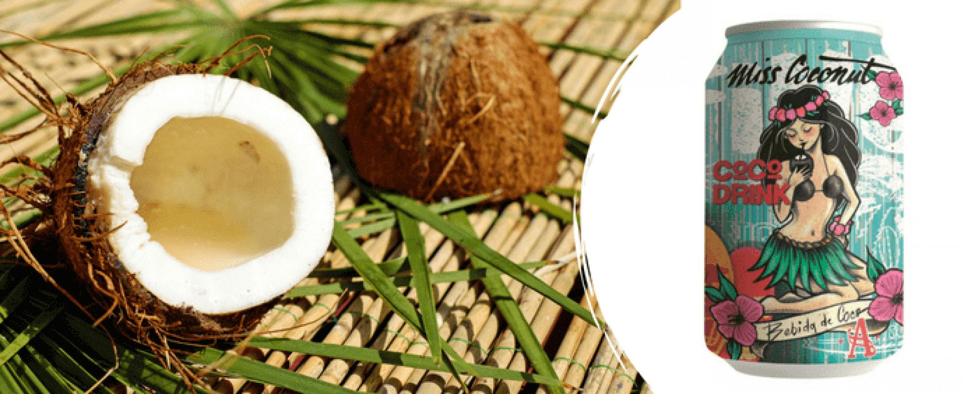 Miss Coconut: la bevanda estiva rinfrescante al latte di cocco