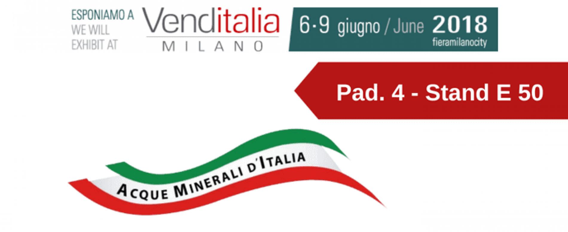 Venditalia 2018. Le novità di Acque Minerali d'Italia