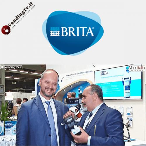 Venditalia 2018. Intervista con Enrico Metti di BRITA ITALIA