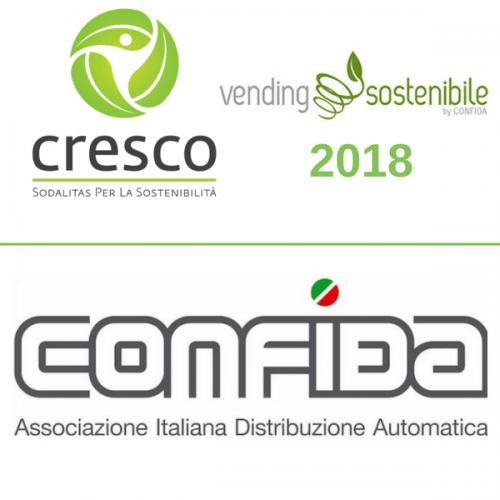 Al via l'edizione 2018 del CRESCO Award per il Vending Sostenibile