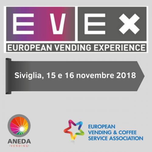 EVEX European Vending Experience. Siviglia ospita l'edizione 2018